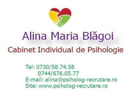 Cabinet Individual de psihologie Blagoi Alina Maria